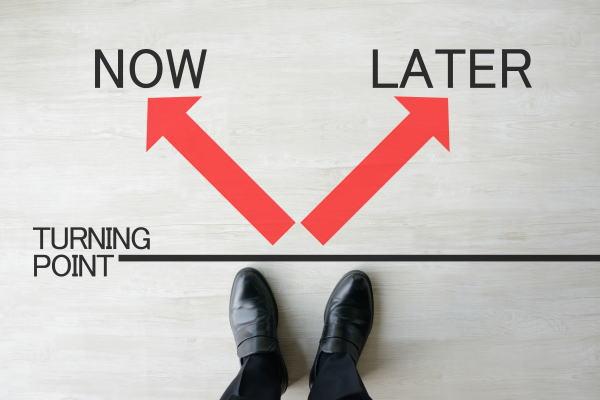 先延ばしの習慣を止めないと、成功することは絶対できない