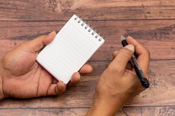 夢・願望を紙に書く